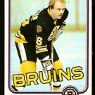 BOSTON BRUINS RICK MIDDLETON 1981 TOPPS # 22 EX MT