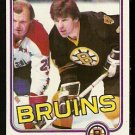BOSTON BRUINS TERRY O'REILLY 1981 TOPPS # E 71 NR MT