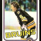 BOSTON BRUINS DICK REDMOND 1981 TOPPS # E 73 VG