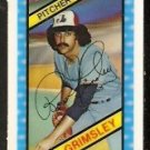MONTREAL EXPOS ROSS GRIMSLEY 1980 KELLOGGS 3-D SUPER STARS # 1 NM