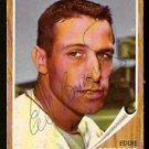 BOSTON RED SOX EDDIE BRESSOUD AUTOGRAPHED 1962 TOPPS # 504