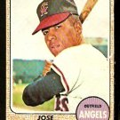 CALIFORNIA ANGELS JOSE CARDENAL 1968 TOPPS # 102 good