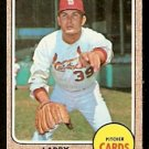 ST LOUIS CARDINALS LARRY JASTER 1968 TOPPS # 117 VG/EX