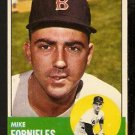 BOSTON RED SOX MIKE FORNIELES 1963 TOPPS # 28 VG/EX
