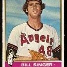 CALIFORNIA ANGELS BILL SINGER 1976 TOPPS # 411 VG