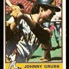 SAN DIEGO PADRES JOHNNY GRUBB 1976 TOPPS # 422 VG/EX