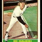 SAN FRANCISCO GIANTS ED HALICKI 1976 TOPPS # 423 EX MT/NM