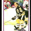 BOSTON BRUINS RICK MIDDLETON SUPER ACTION 1981 TOPPS # 129