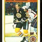 BOSTON BRUINS WAYNE CASHMAN 1982 OPC O PEE CHEE # 8 NR MT