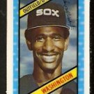 CHICAGO WHITE SOX CLAUDELL WASHINGTON 1980 KELLOGGS 3-D SUPER STARS # 34 NR MT