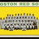BOSTON RED SOX TEAM CARD 1964 TOPPS # 579 VG+/EX