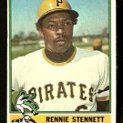PITTSBURGH PIRATES RENNIE STENNETT 1976 TOPPS # 425 VG