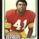 WASHINGTON REDSKINS MIKE BASS 1976 TOPPS # 409 EX MT