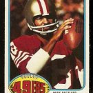 SAN FRANCISCO FORTY NINERS GENE WASHINGTON 1976 TOPPS # 418 EX/EM