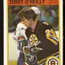 BOSTON BRUINS TERRY O'REILLY 1982 OPC O PEE CHEE # 18 NR MT