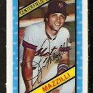 NEW YORK METS LEE MAZZILLI 1980 KELLOGGS 3-D SUPER STARS # 38 NR MT