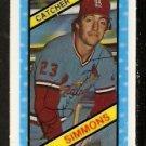 ST LOUIS CARDINALS TED SIMMONS 1980 KELLOGGS 3-D SUPER STARS # 45 NR MT