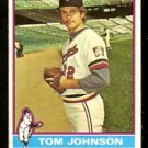 MINNESOTA TWINS TOM JOHNSON 1976 TOPPS # 448 VG