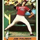 BALTIMORE ORIOLES JIM PALMER 1976 TOPPS # 450 EX