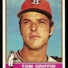 HOUSTON ASTROS TOM GRIFFIN 1976 TOPPS # 454 EX
