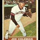 DETROIT TIGERS JOE COLEMAN 1976 TOPPS # 456 good