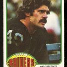 OAKLAND RAIDERS MIKE SIANI 1976 TOPPS # 443 EM/NM