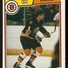 BOSTON BRUINS PETER McNAB 1983 OPC O PEE CHEE # 53 NR MT