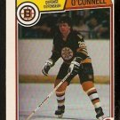 BOSTON BRUINS MIKE O'CONNELL 1983 OPC O PEE CHEE # 56