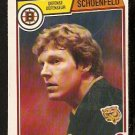 BOSTON BRUINS JIM SCHOENFELD 1983 OPC O PEE CHEE # 59