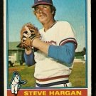 TEXAS RANGERS STEVE HARGAN 1976 TOPPS # 463 good