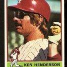 CHICAGO WHITE SOX KEN HENDERSON 1976 TOPPS # 464 EX MT/NR MT