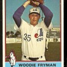MONTREAL EXPOS WOODIE FRYMAN 1976 TOPPS # 467