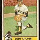SAN DIEGO PADRES BOB DAVIS 1976 TOPPS # 472 good