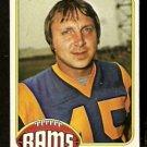 LOS ANGELES RAMS JIM BERTELSEN 1976 topps # 493 EX