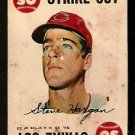 CLEVELAND INDIANS STEVE HARGAN 1968 TOPPS GAME CARD # 15 fair