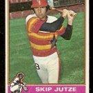 HOUSTON ASTROS SKIP JUTZE 1976 TOPPS # 489 good