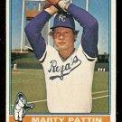 KANSAS CITY ROYALS MARTY PATTIN 1976 TOPPS # 492 good