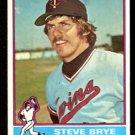 MINNESOTA TWINS STEVE BRYE 1976 TOPPS # 519 EM/NM