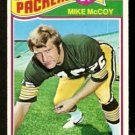 GREEN BAY PACKERS MIKE McCOY 1977 TOPPS # 44 EX