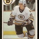 BOSTON BRUINS BARRY PEDERSON 1985 O PEE CHEE OPC # 52 EX+/EM