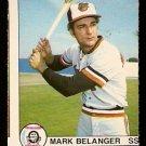 BALTIMORE ORIOLES MARK BELANGER 1979 O PEE CHEE OPC # 27