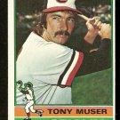 BALTIMORE ORIOLES TONY MUSER 1976 TOPPS # 537 EM OC