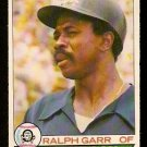 CHICAGO WHITE SOX RALPH GARR 1979 O PEE CHEE OPC # 156 good