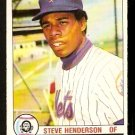 NEW YORK METS STEVE HENDERSON 1979 O PEE CHEE OPC # 232 NR MT