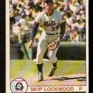 NEW YORK METS SKIP LOCKWOOD 1979 O PEE CHEE OPC # 250 NR MT