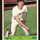 SAN FRANCISCO GIANTS RANDY MOFFITT 1976 TOPPS # 553 VG