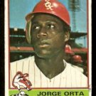 CHICAGO WHITE SOX JORGE ORTA 1976 TOPPS # 560 fair/good