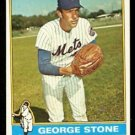 NEW YORK METS GEORGE STONE 1976 TOPPS # 567