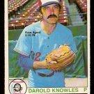 ST LOUIS CARDINALS DAROLD KNOWLES 1979 O PEE CHEE OPC # 303 NR MT
