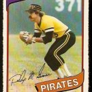 PITTSBURGH PIRATES PHIL GARNER 1980 O PEE CHEE OPC # 65 NR MT